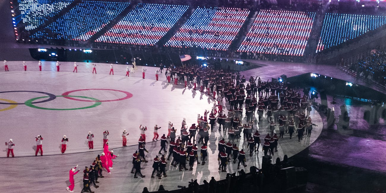 Winter Olympics Opening Ceremony
