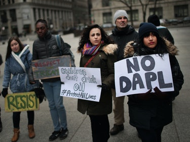 ACLU Fighting Back Against Police Warrant for NoDAPL Protestor Facebook Group