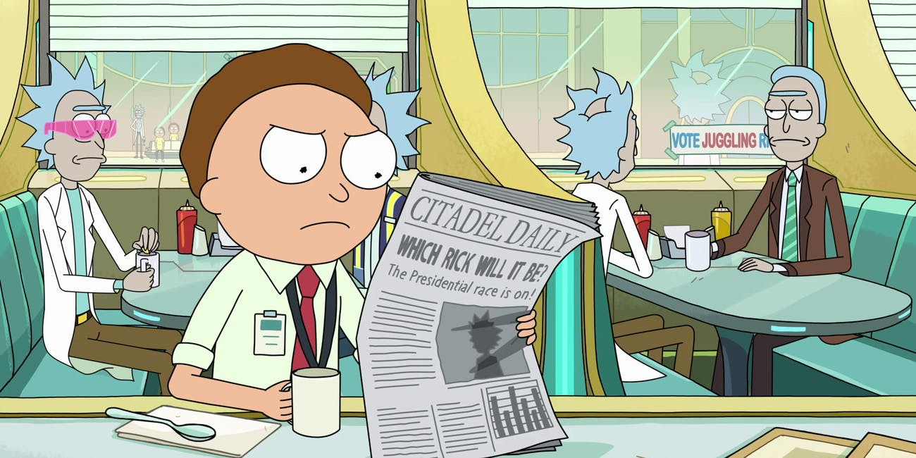rick and morty tales from the citadel