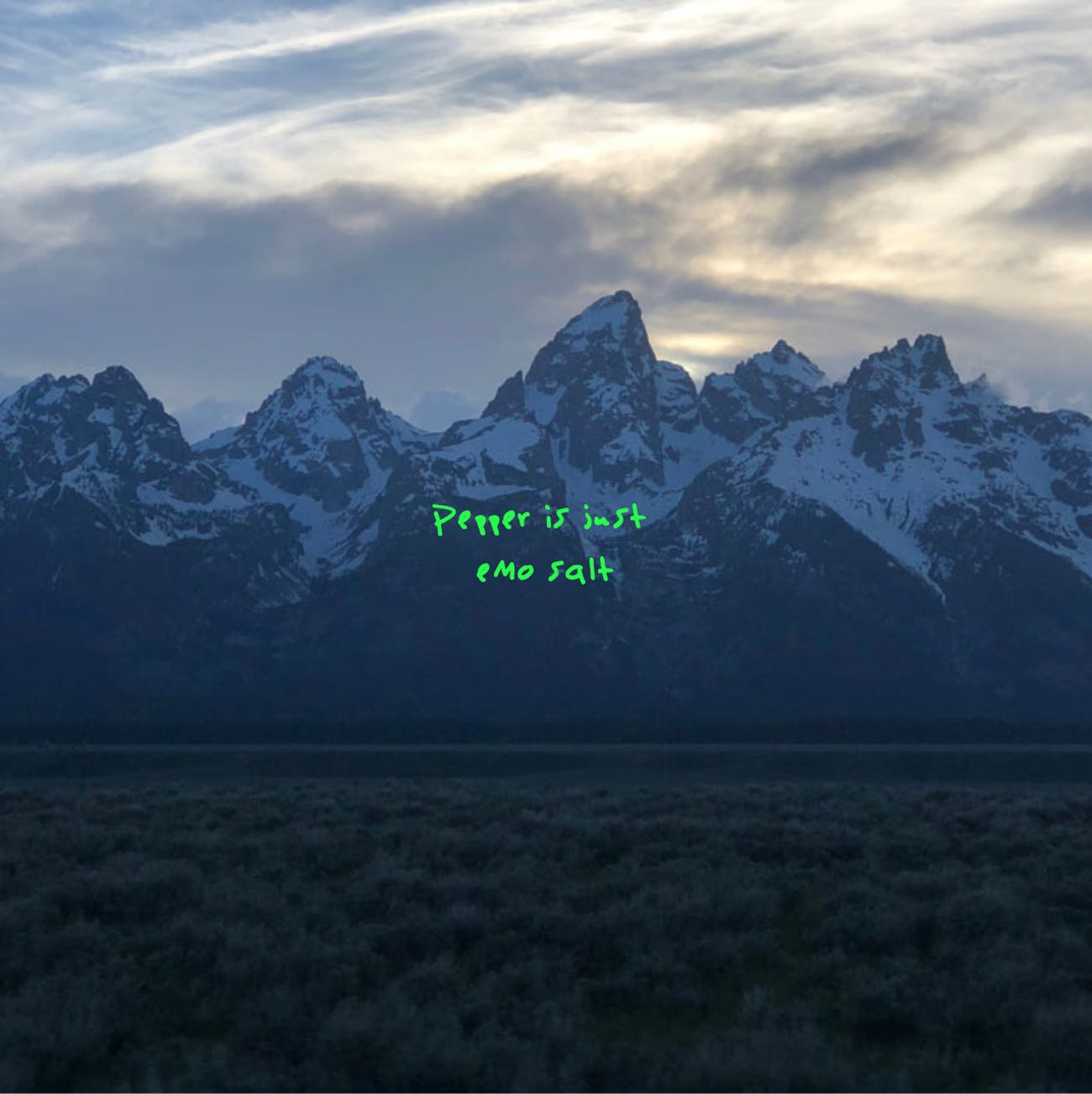 Dennys, Kanye West, Ye, meme