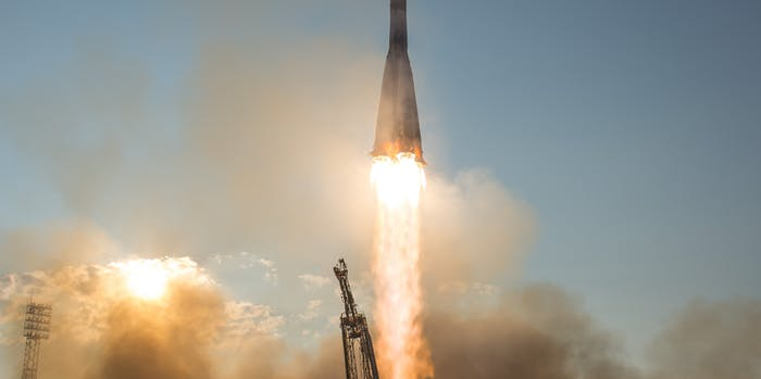 Expedition 48 Launch (Soyuz MS-01)