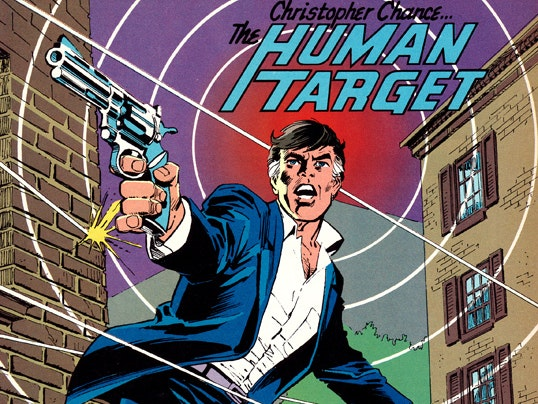 Human Target from the original comics.