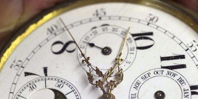 Daylight savings time starts on Sunday.