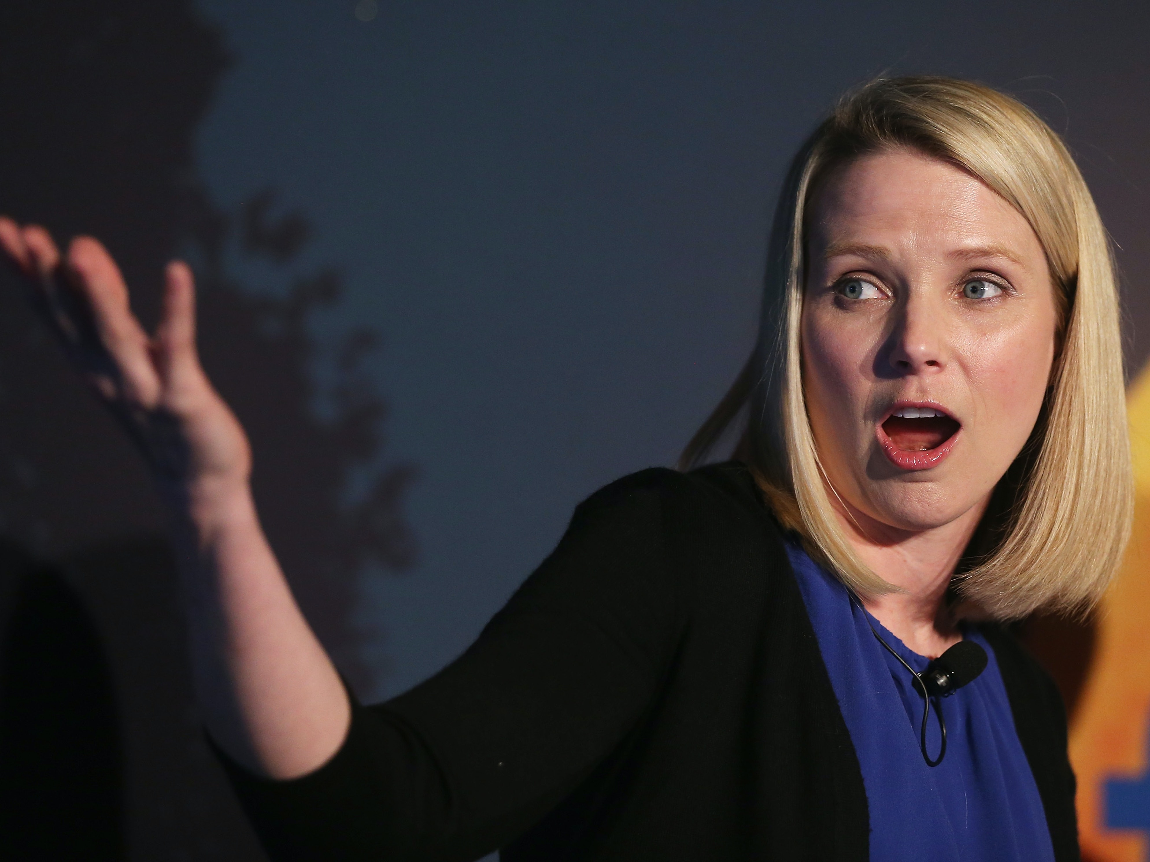 Yahoo CEO Marissa Mayer agreed to a government spying plan.