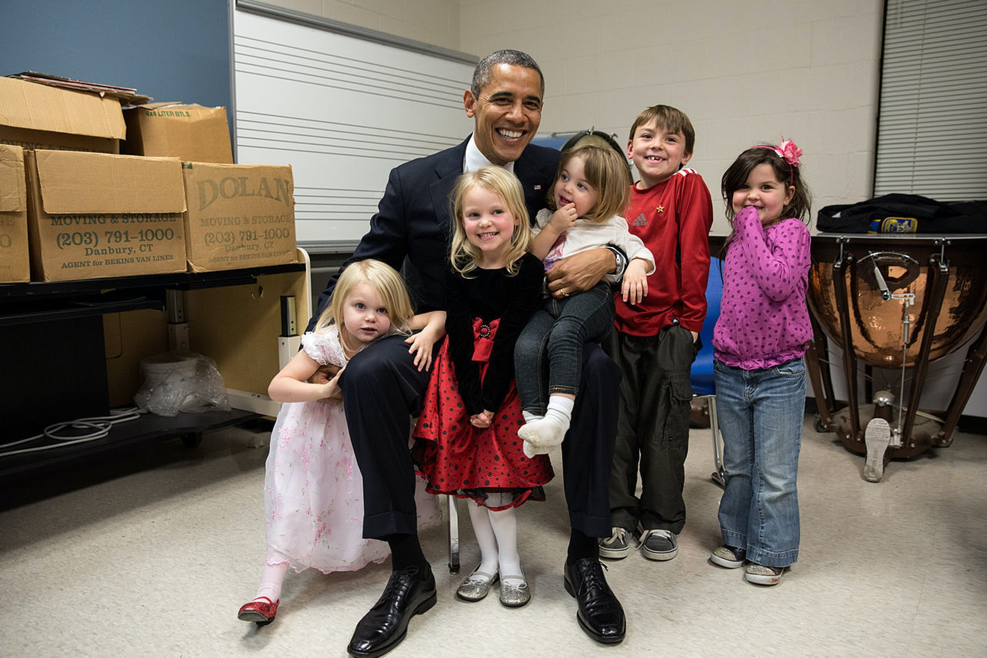 If you love President Obama, your kids probably do too.