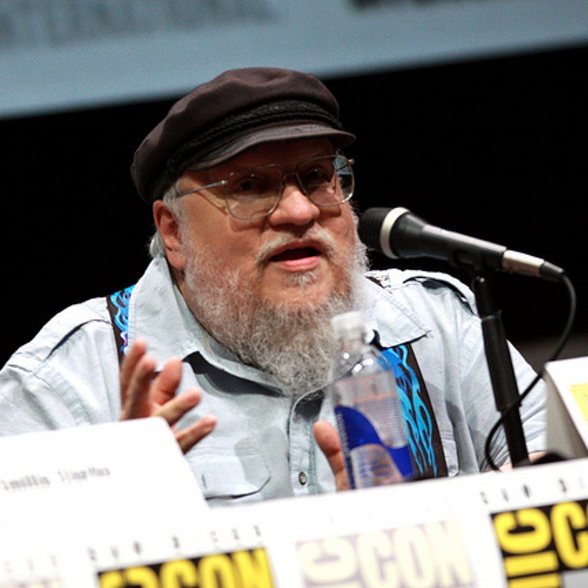 "'Winds of Winter' release date delays are ""haunting"" George R.R. Martin"