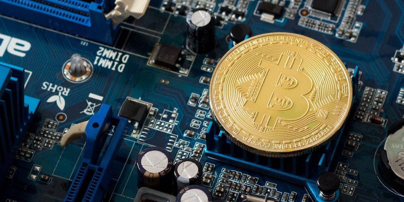 Echter Bitcoin Chip