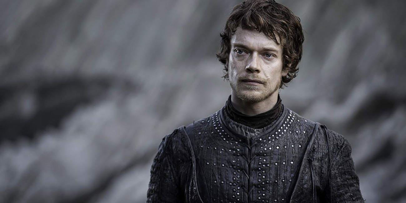 Theon Greyjoy on 'Game of Thrones'Theon Greyjoy on 'Game of Thrones'