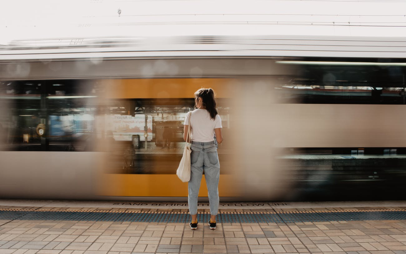 train commute