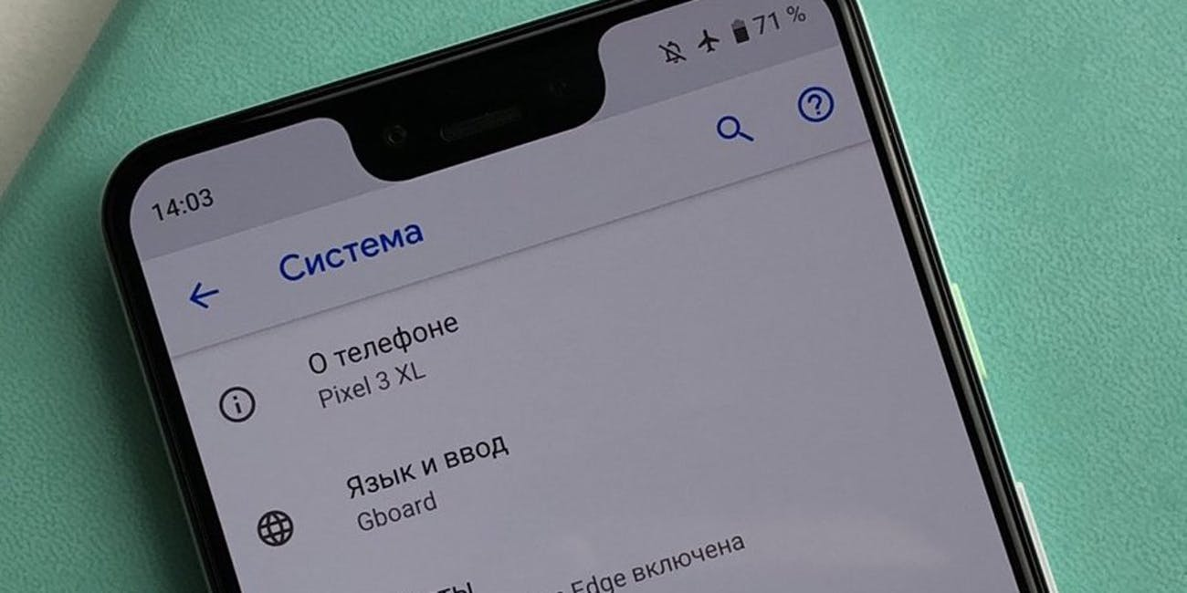 A leaked image of a Google Pixel XL 3 phone as it appeared on PhoneArena.com, a leaks news website.