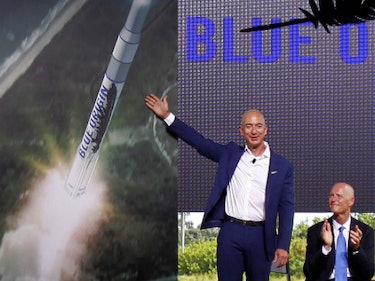 Bezos: Space Tourism is Going to Be Great 'Practice' for Space Colonies