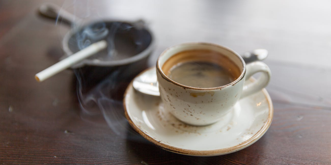 Coffee and Cigarettes can increase your anxiety level