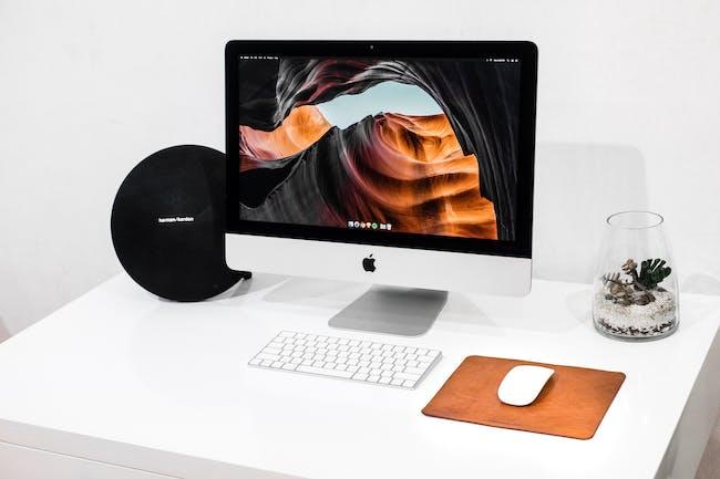 imac apple desktop computer