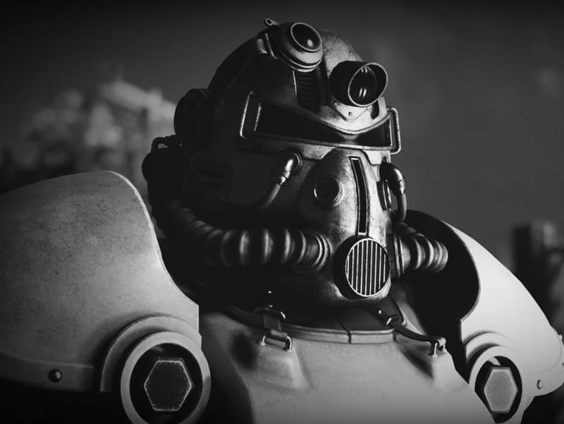 Fallout 76 power armor guy