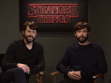 SNL's 'Stranger Things' Sketch Introduces Lucas's Parents