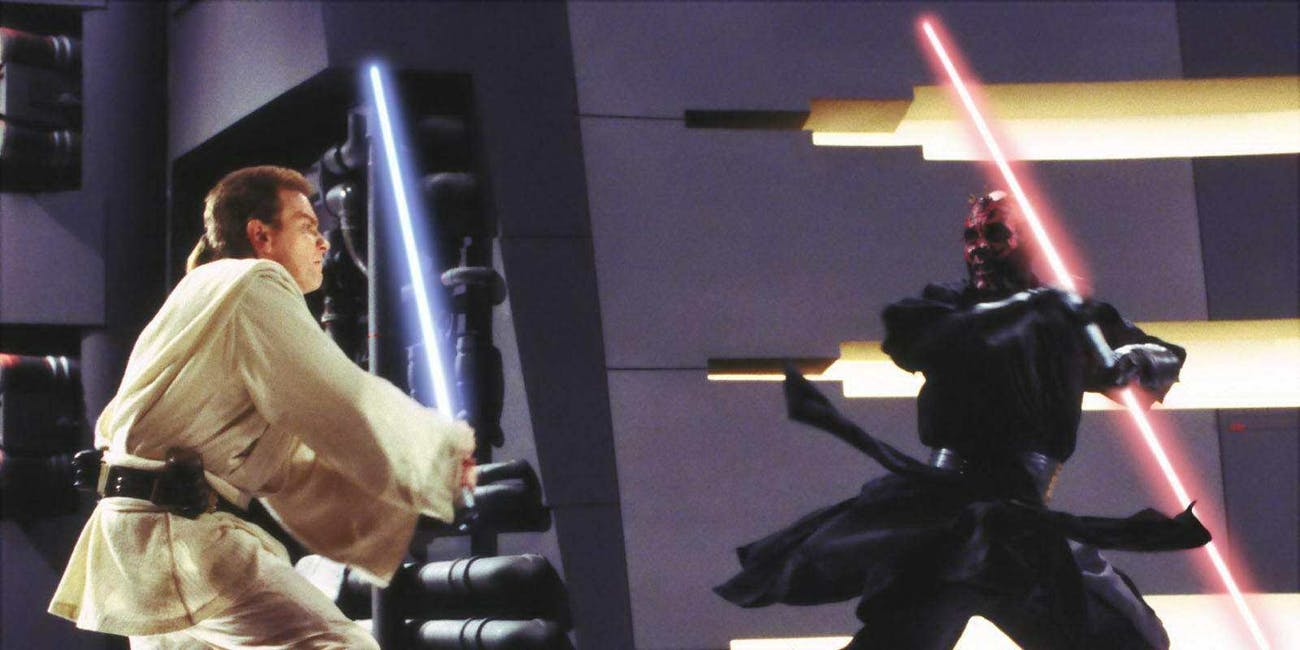 Obi-Wan And Darth Maul Lightsaber Duel Will Be Hardcore In -9974