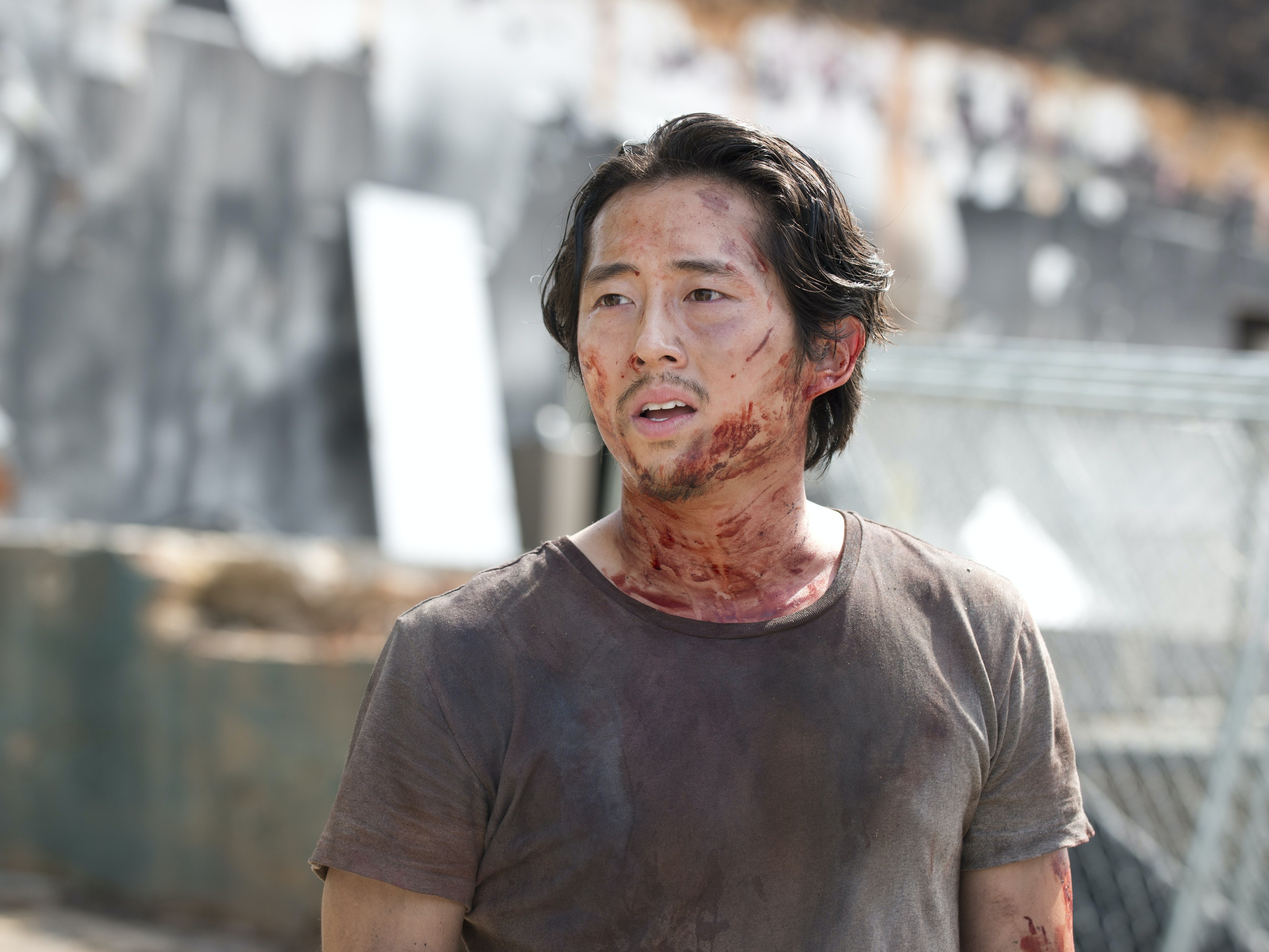 Steven Yeun Knew a Year Ago Negan Would Kill Glenn This Season
