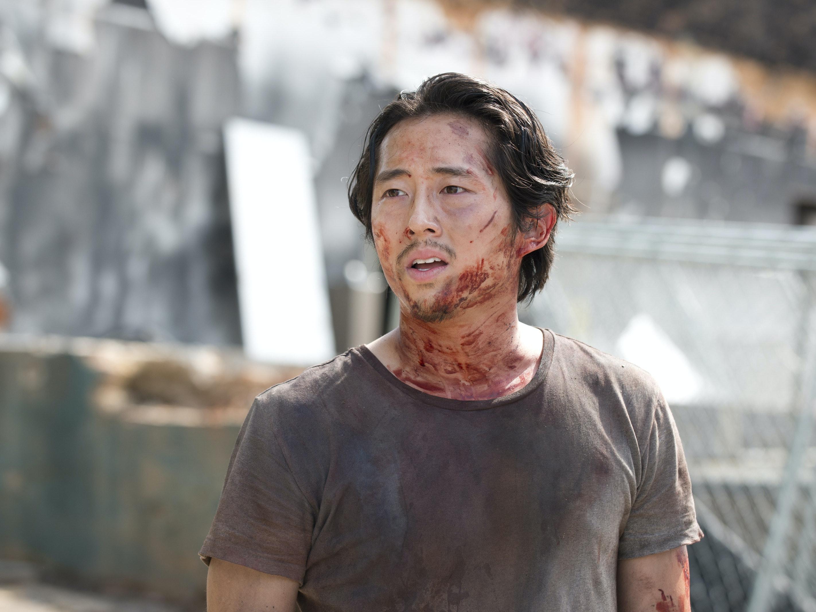 Steven Yeun Knew a Year Ago Negan Would Kill Glenn This Season