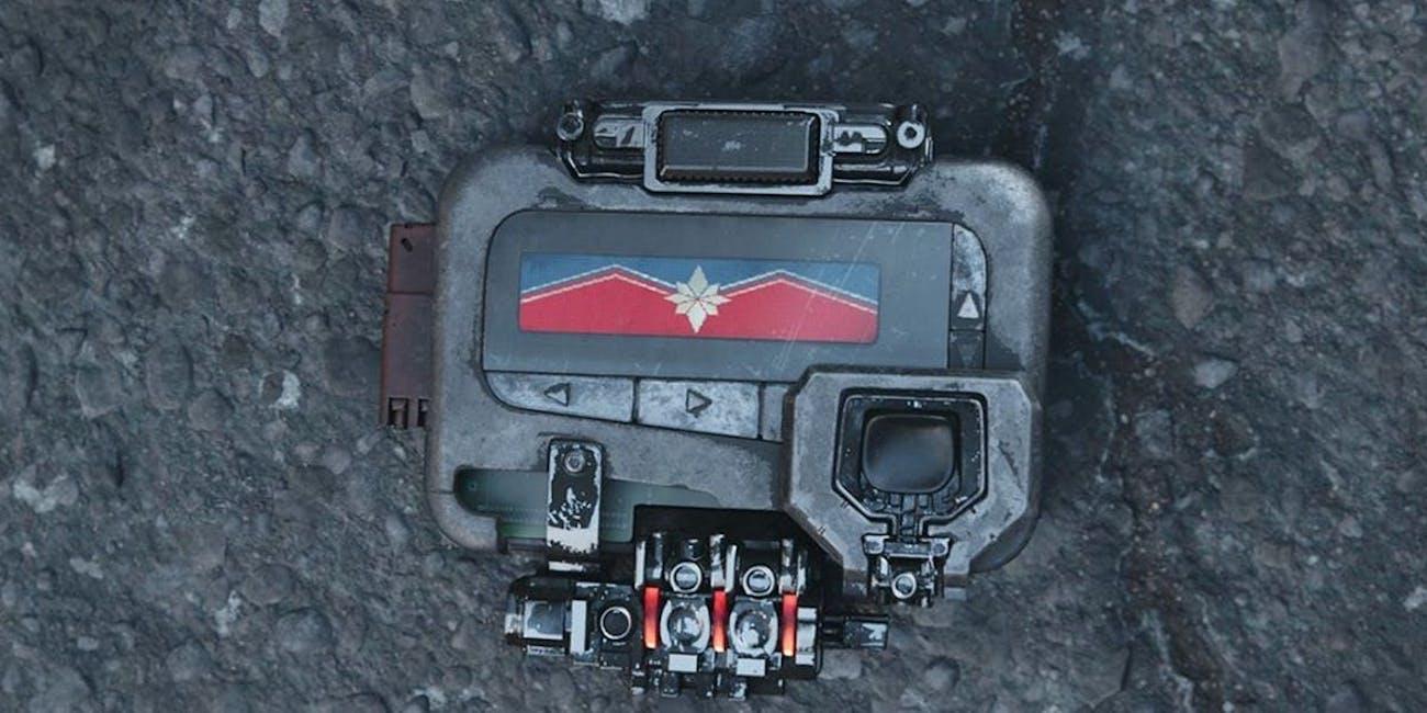 Infinity War Nick Fury Pager