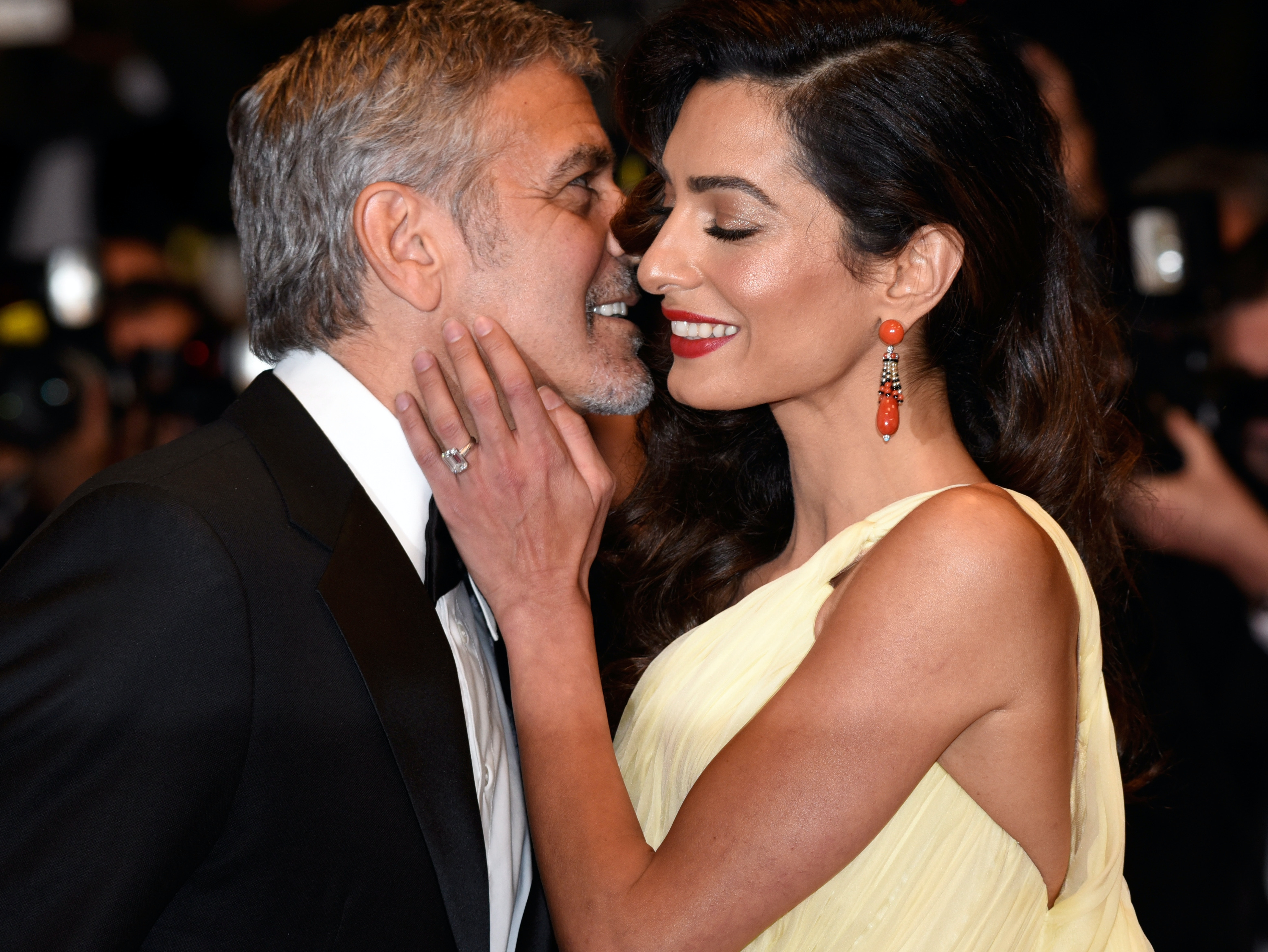Amal and George Clooney are expecting twins.