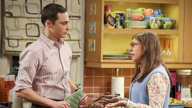 Sheldon Cooper, Amy Farrah Fowler -- 'The Big Bang Theory'