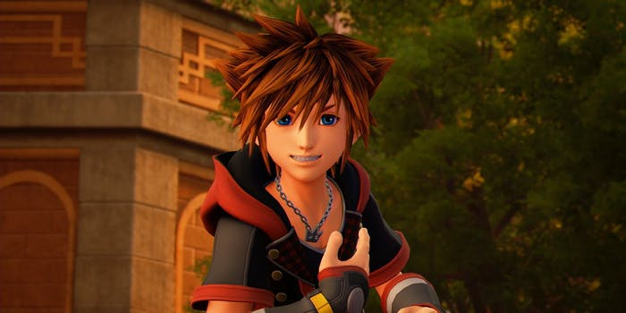 Sora in the 'Frozen' world in ''Kingdom Hearts III'.