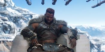 Black Panther M'Baku