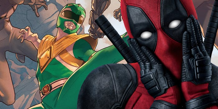 Power Rangers Deadpool Rob Liefeld