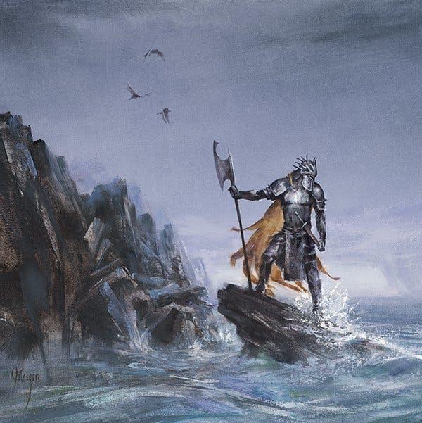 Victarion Greyjoy is the most badass Greyjoy in Westeros.