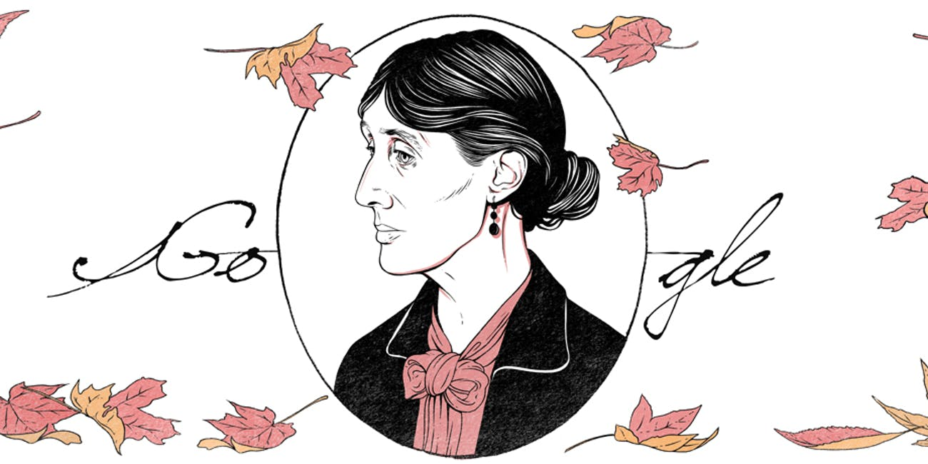 Virginia Woolf Google Doodle