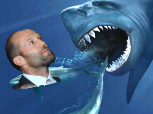 Jason Statham Could Defeat Megalodon by Frightening Small Whales