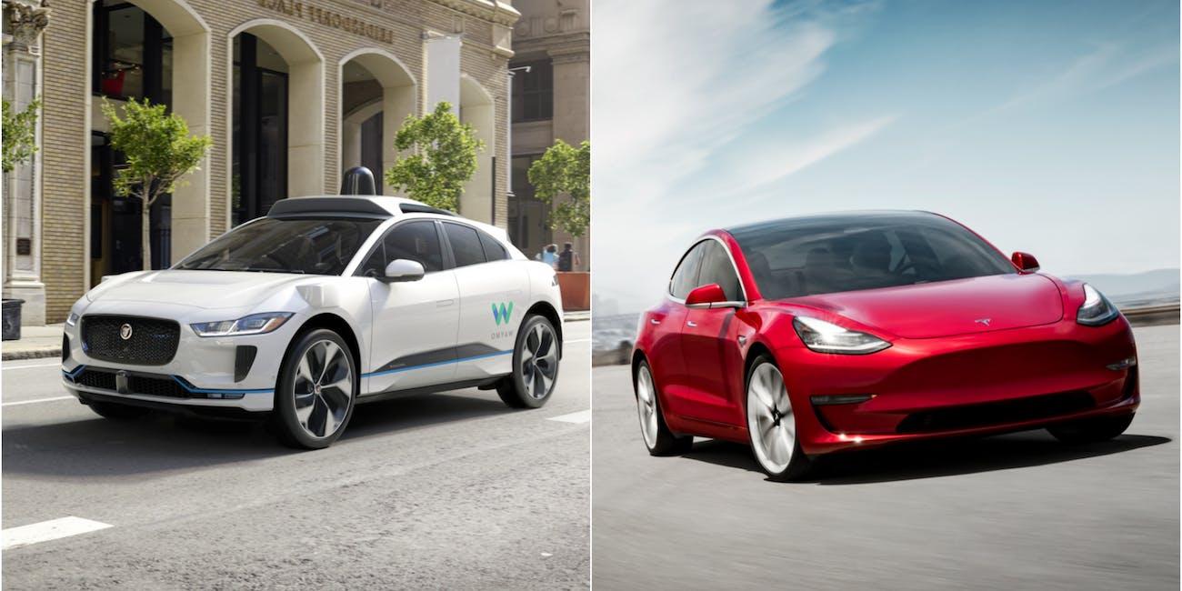Waymo vs  Tesla: Who Will Win the Self-Driving Car Race