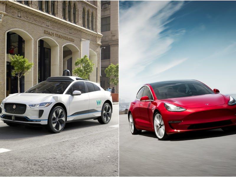 Waymo vs Tesla
