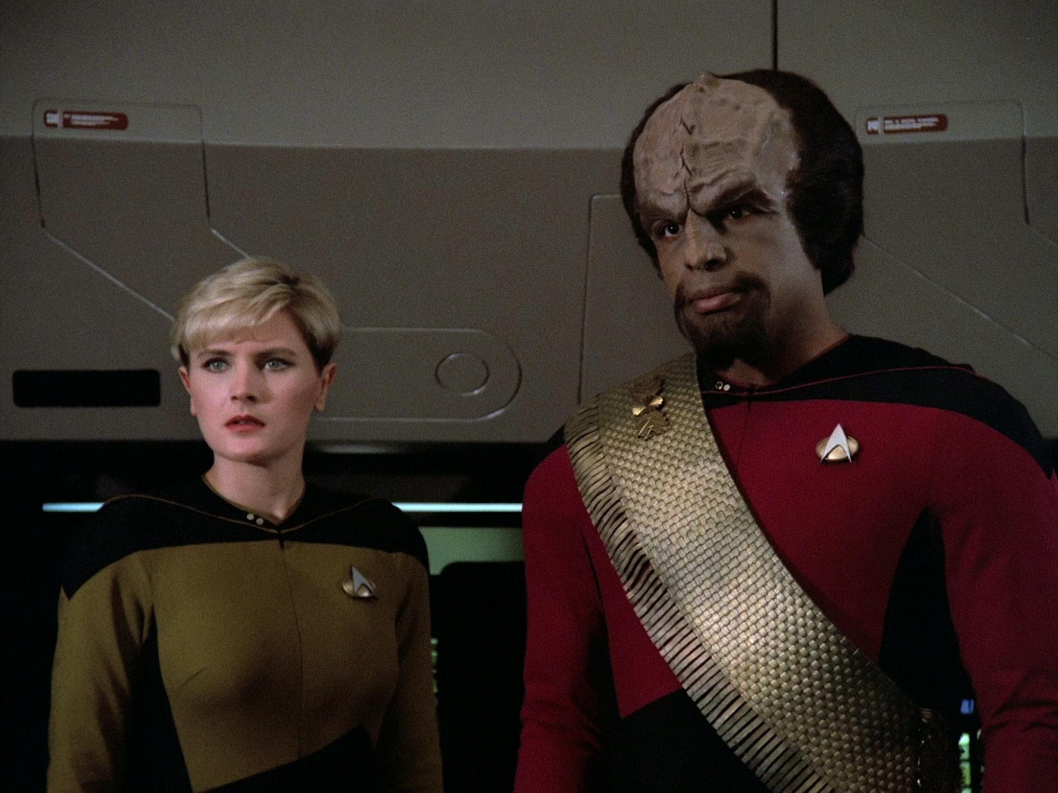 Worf in 'Star Trek: The Next Generation'