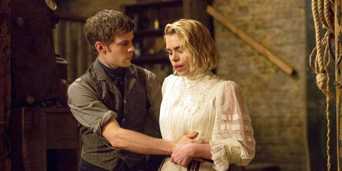 In 'Penny Dreadful,' Dr. Frankenstein (Harry Treadaway) creates a female mate for his Monster (Billie Piper), but she refuses to mate.