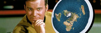 kirk flat earth