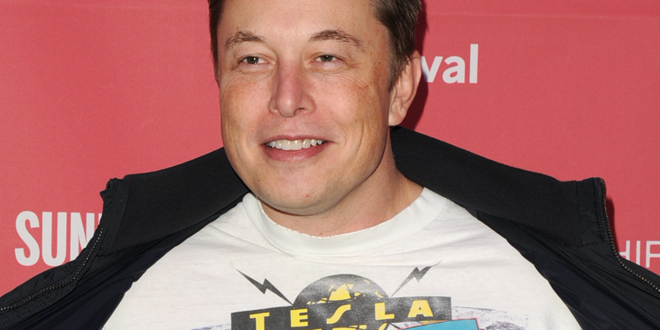PARK CITY, UT - JANUARY 24:  CEO and Chief Product Architect of Tesla Motors, Elon Musk attends the 'RACING EXTINCTION' Premiere at The Marc Theater on January 24, 2015 in Park City, Utah.  (Photo by Lily Lawrence/Getty Images for Oceanic Preservation Society)