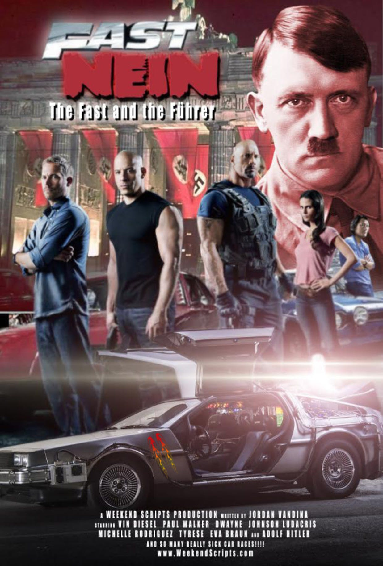 The Genius Behind The Fast And The Furious Vs Hitler Script Is A