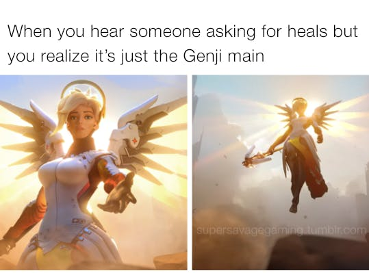 Overwatch Blizzard Entertainment Mercy Support