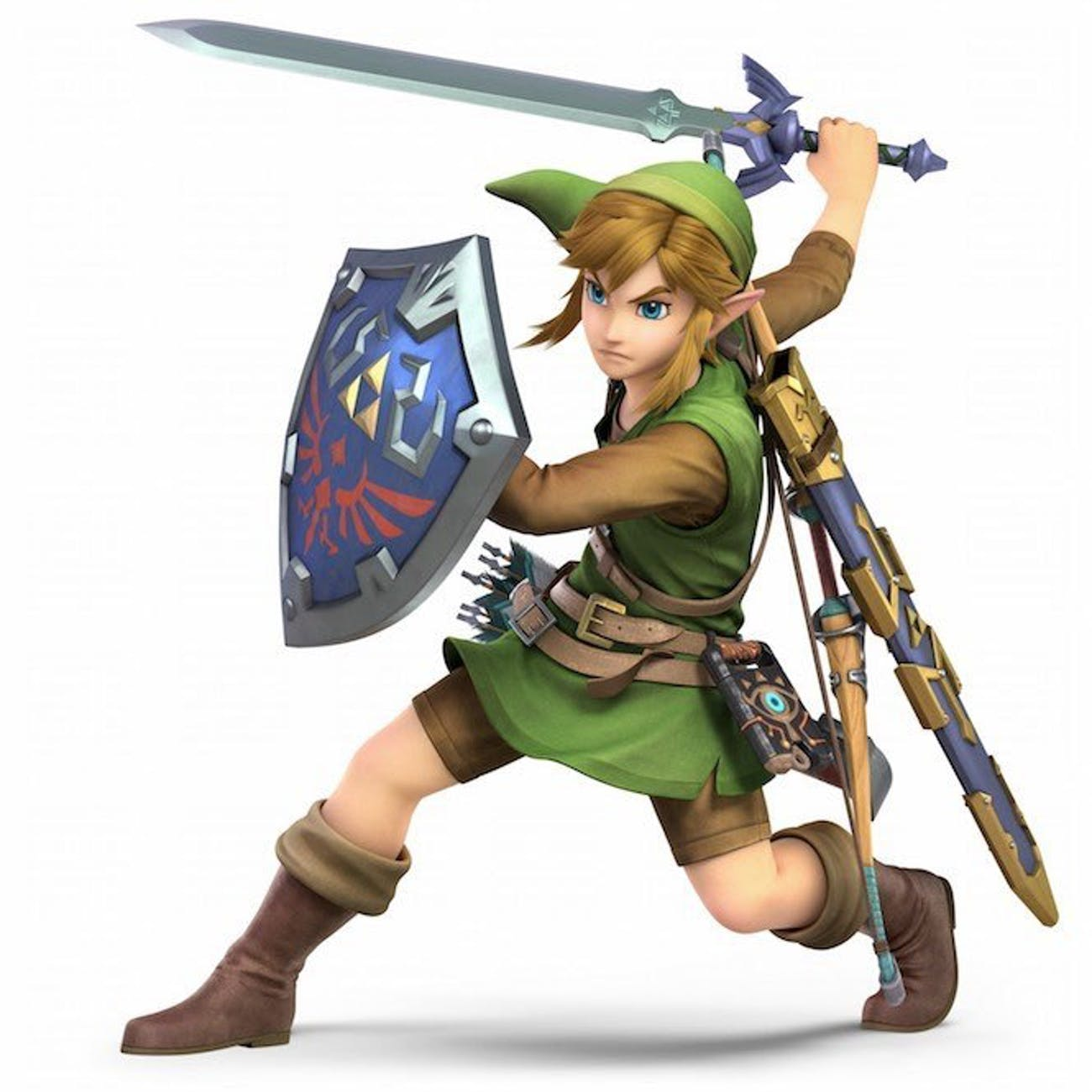 Check out Link's new look in 'Super Smash Bros. Ultimate'