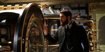 Josh Bowman as Doctor John Stevenson in 'Time After Time'
