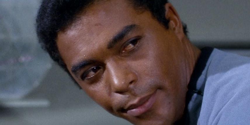 Don Marshall as Lt. Boma in 'Star Trek'