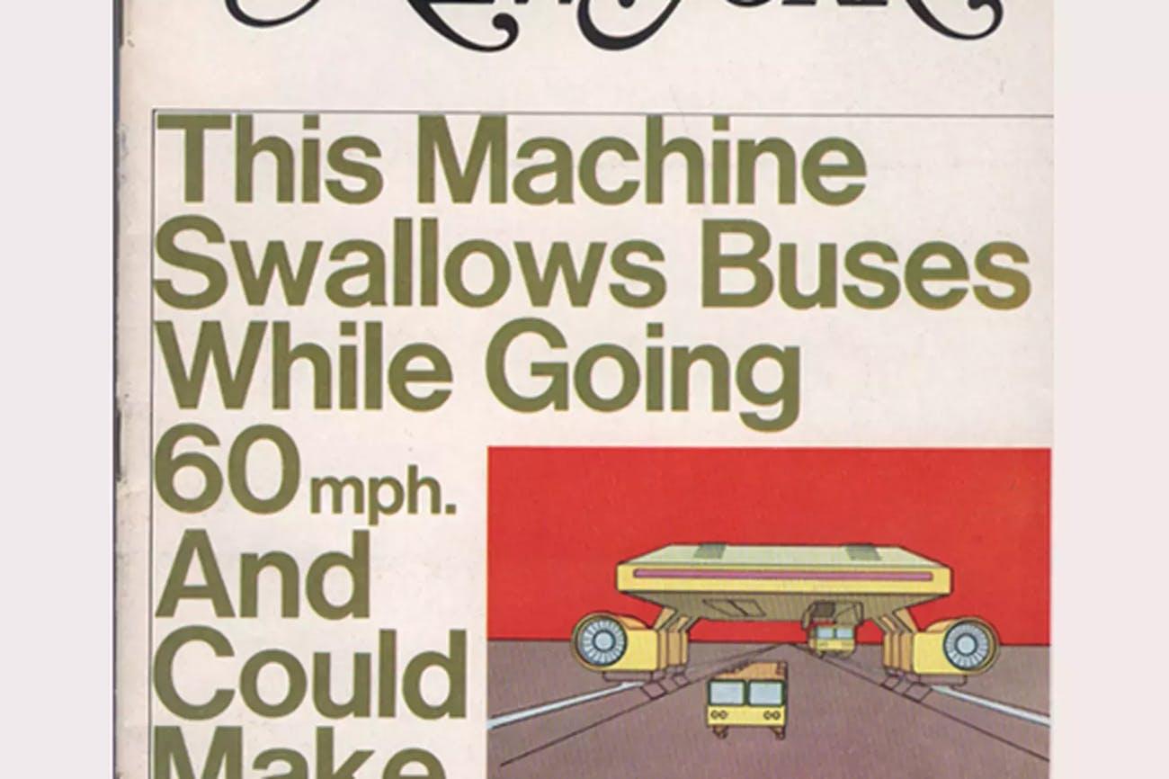 Landliner New York magazine design transportation proposal Hodgett