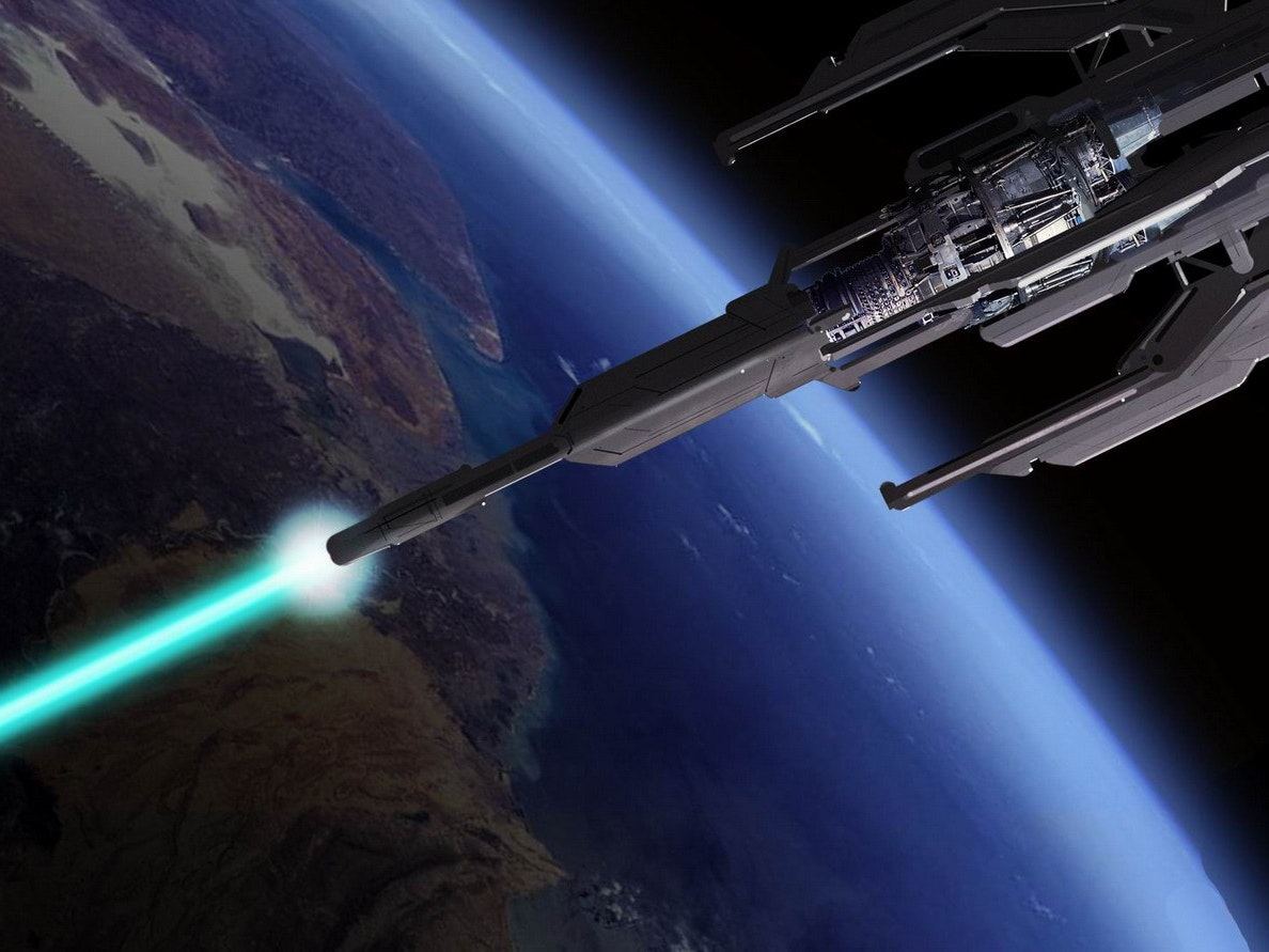 ion cannon space weapon