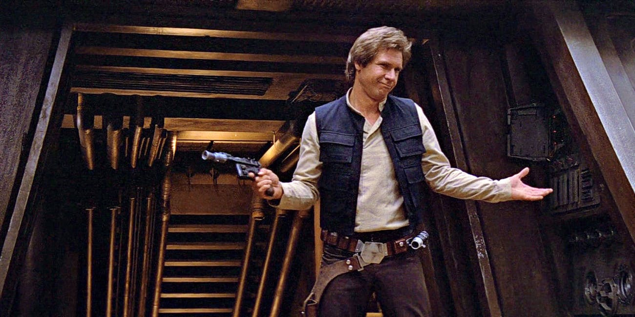 Han Solo is a nice guy after all