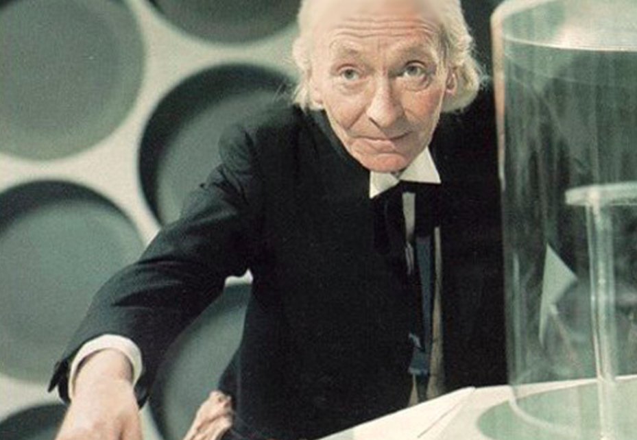 William Hartnell as the 1st Doctor