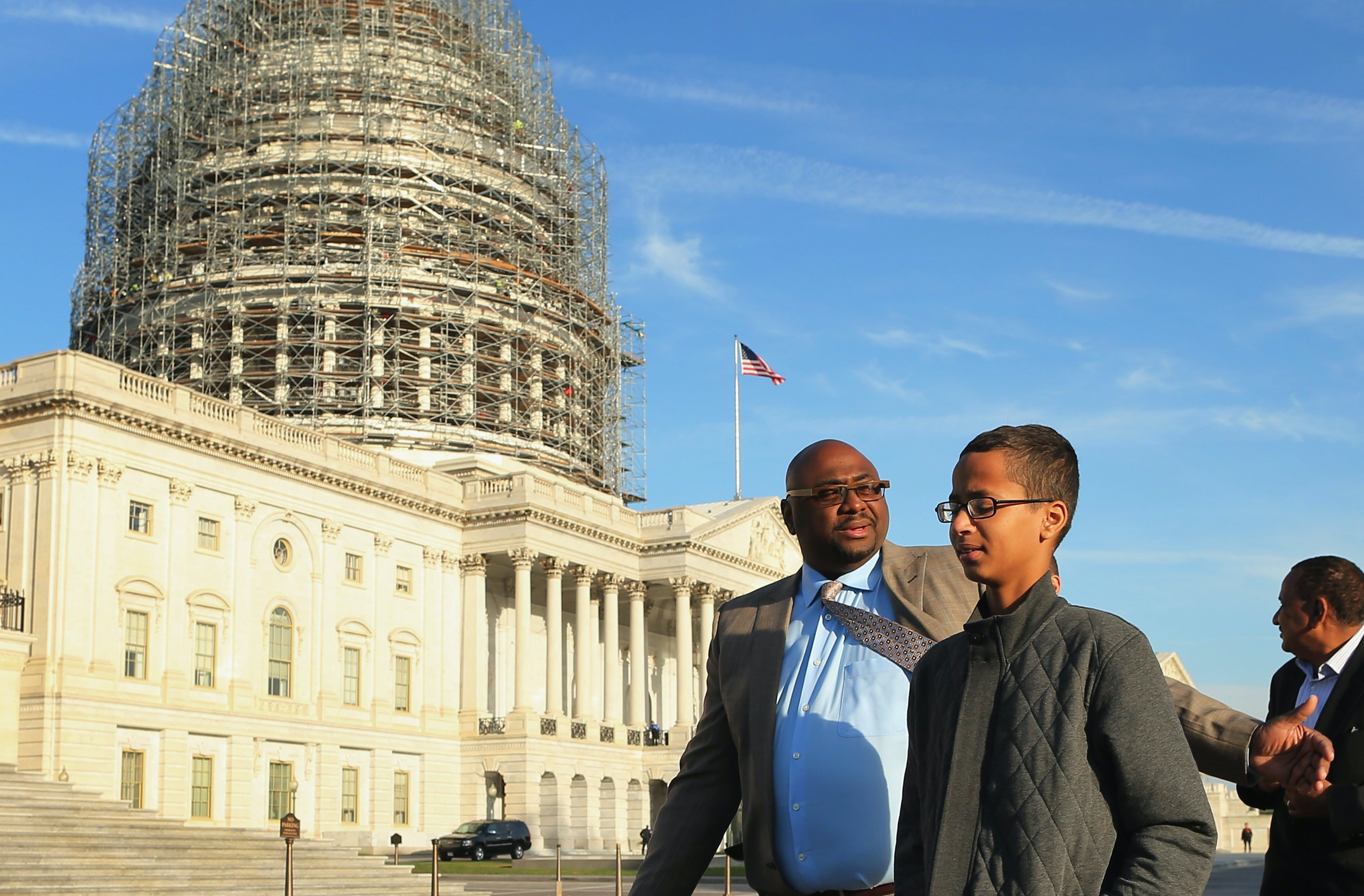 Ahmed Mohamed says he doesn't feel safe in the United States since the incident.