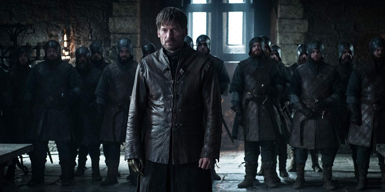 Jaime Lannister (Nikolaj Coster-Waldau) on Game of Thrones Season 8, Episode 2