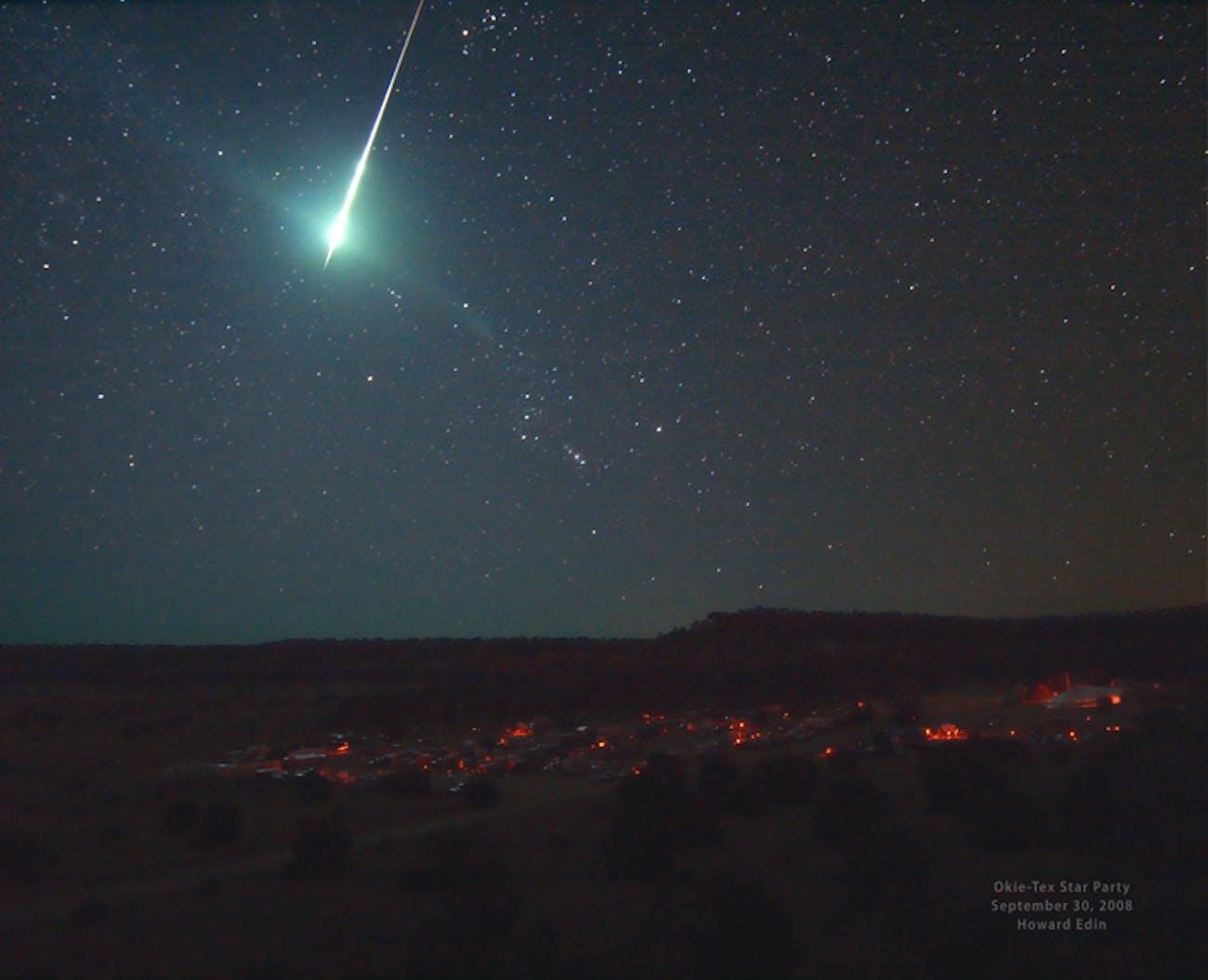 bolide fireball meteor