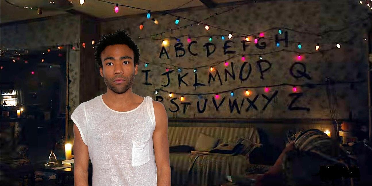 Somebody remixed Childish Gambino with the 'Stranger Things' Theme